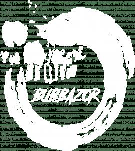 bubbazor logo w
